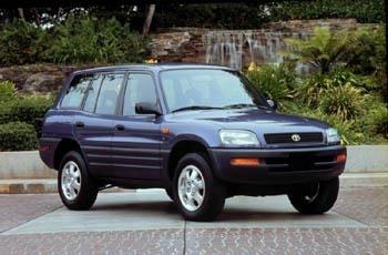 Отзыв о Toyota RAV4 1 поколение 1997г. 5 дв.