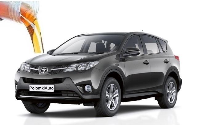 Замена масла в двигателе Toyota RAV4 третьего поколения CA30W - главная