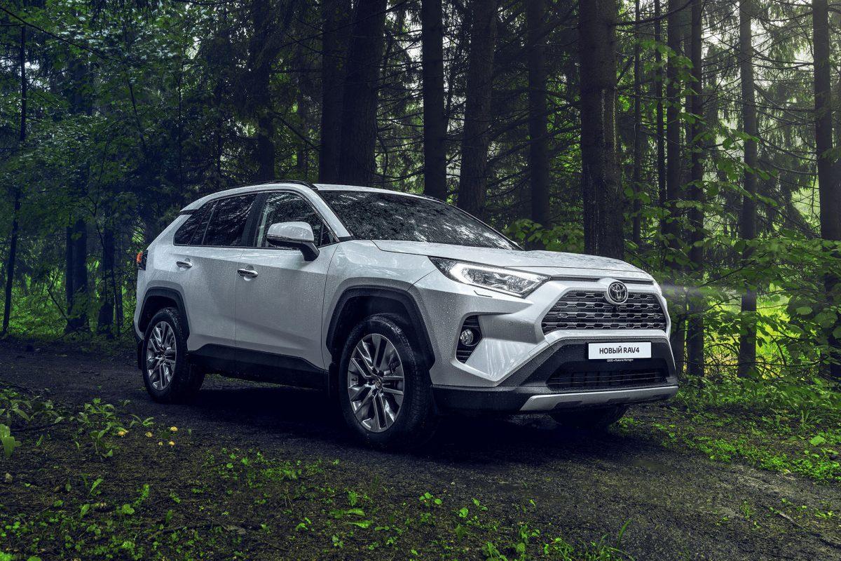 В России стартовали продажи обновленного Toyota RAV4