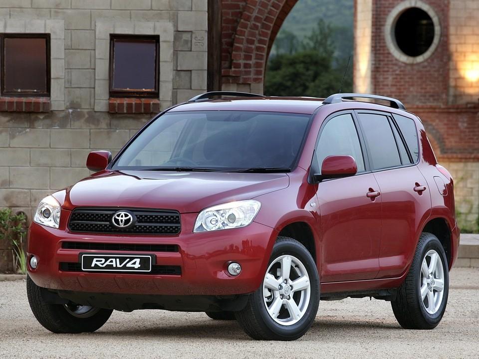 Toyota RAV4 - конкуренты