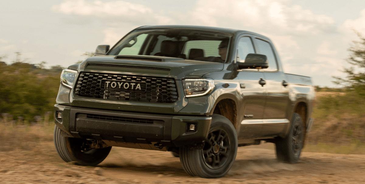 Toyota Tundra 2021 внешность