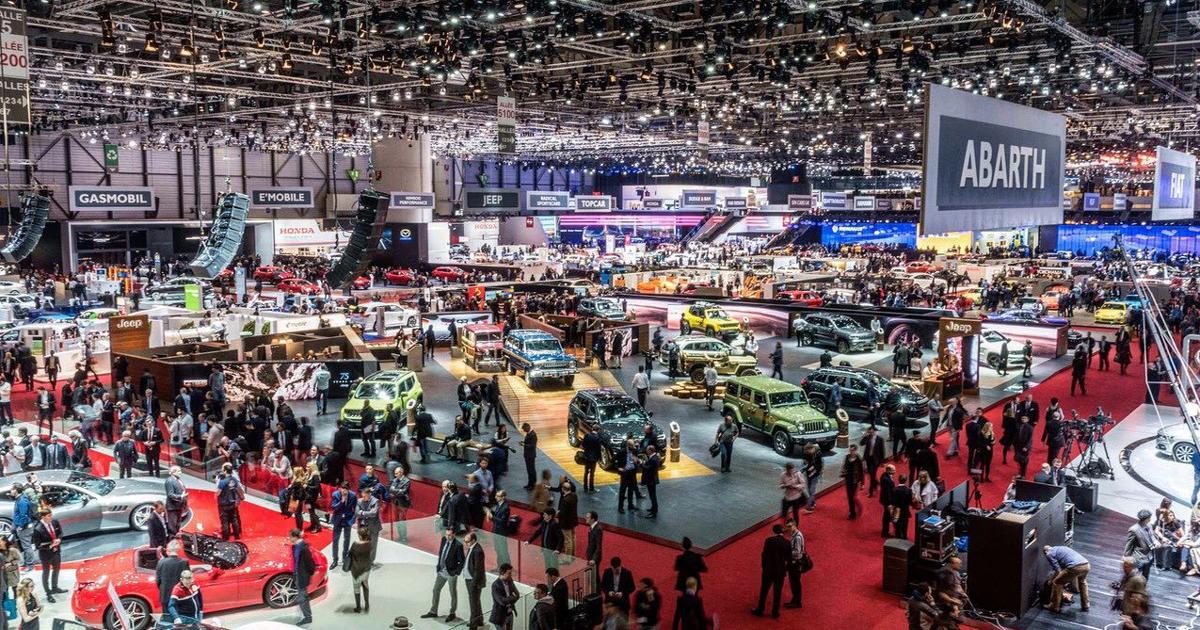 Автослон в Женеве 2021
