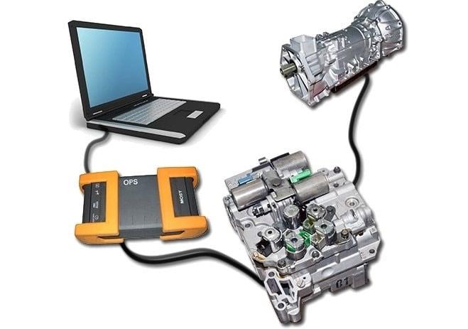 Как выглядит компьютерная диагностика коробки передач?