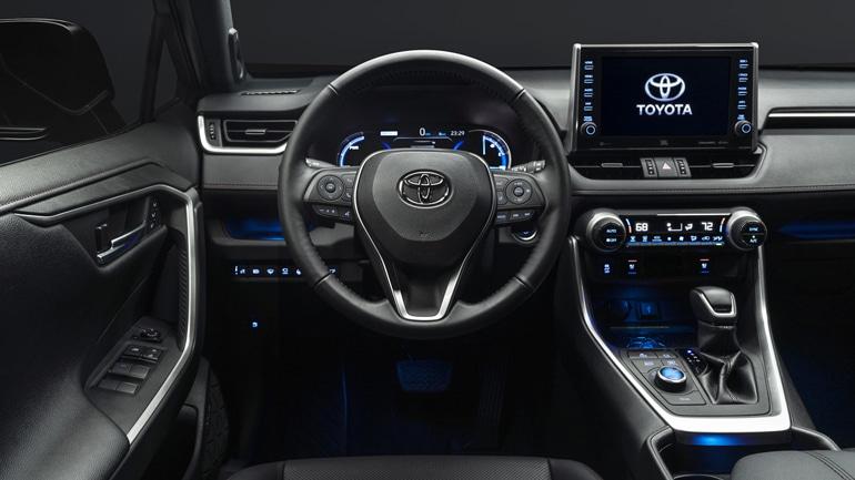 Toyota RAV4 2021 возможный интерьер